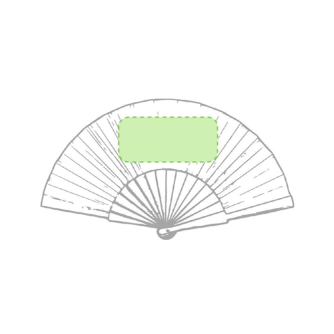 Abanico de bambú 3