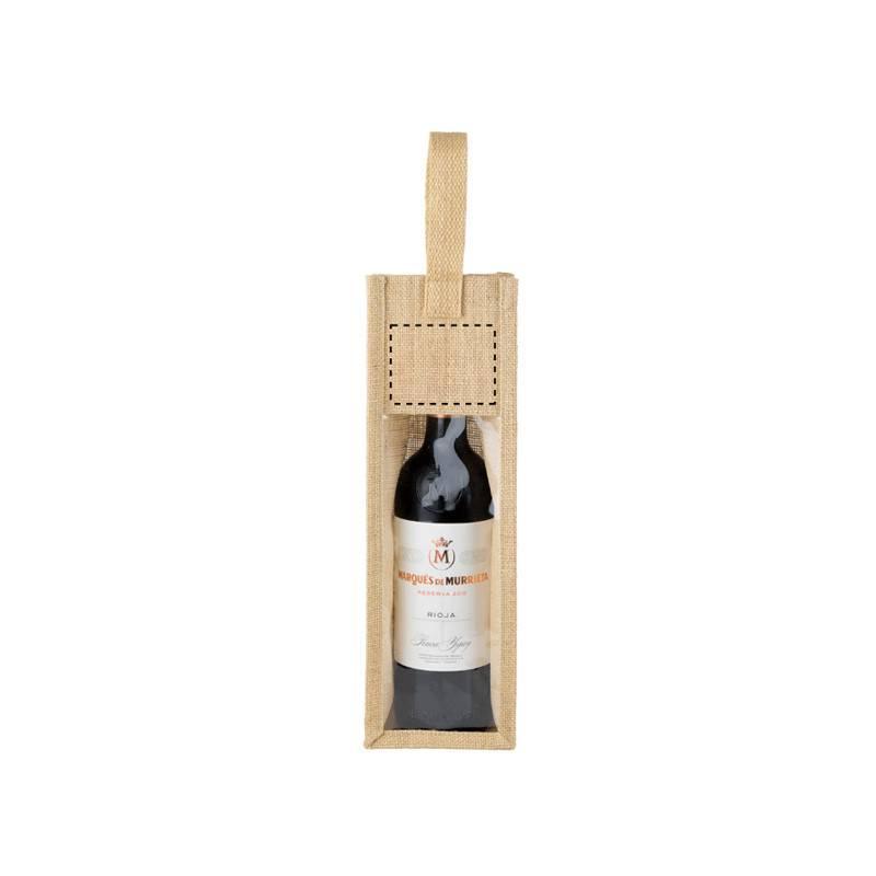 Bolsa de 1 asa para botella de vino 1