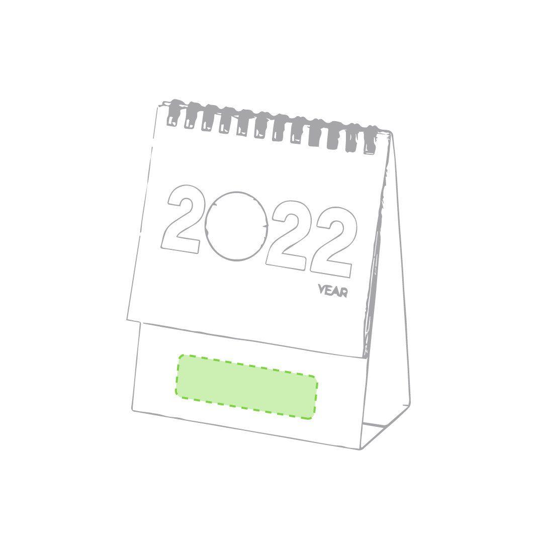Calendario mini de cartón reciclado 1
