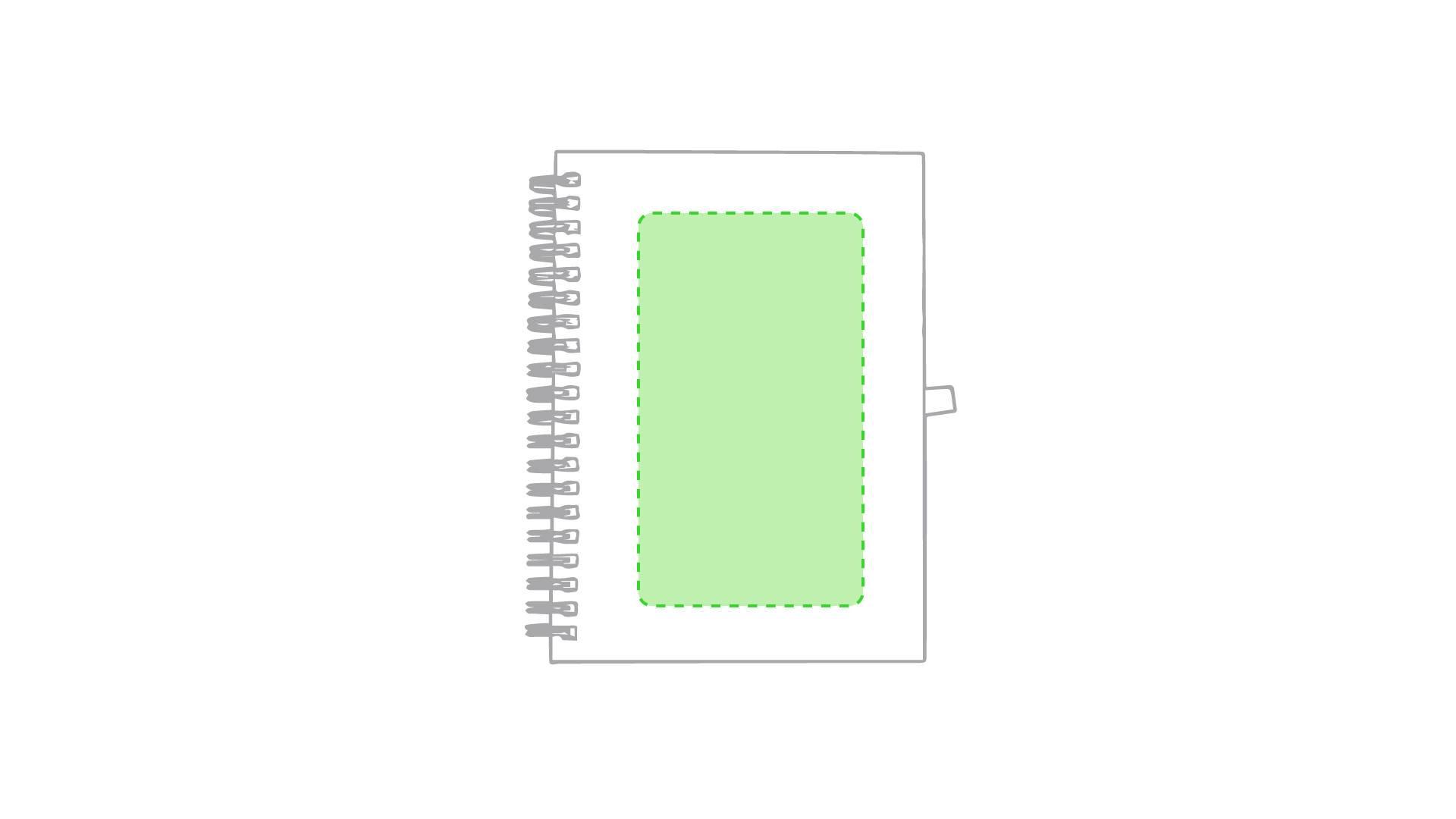 Libreta de cartón de colores 1