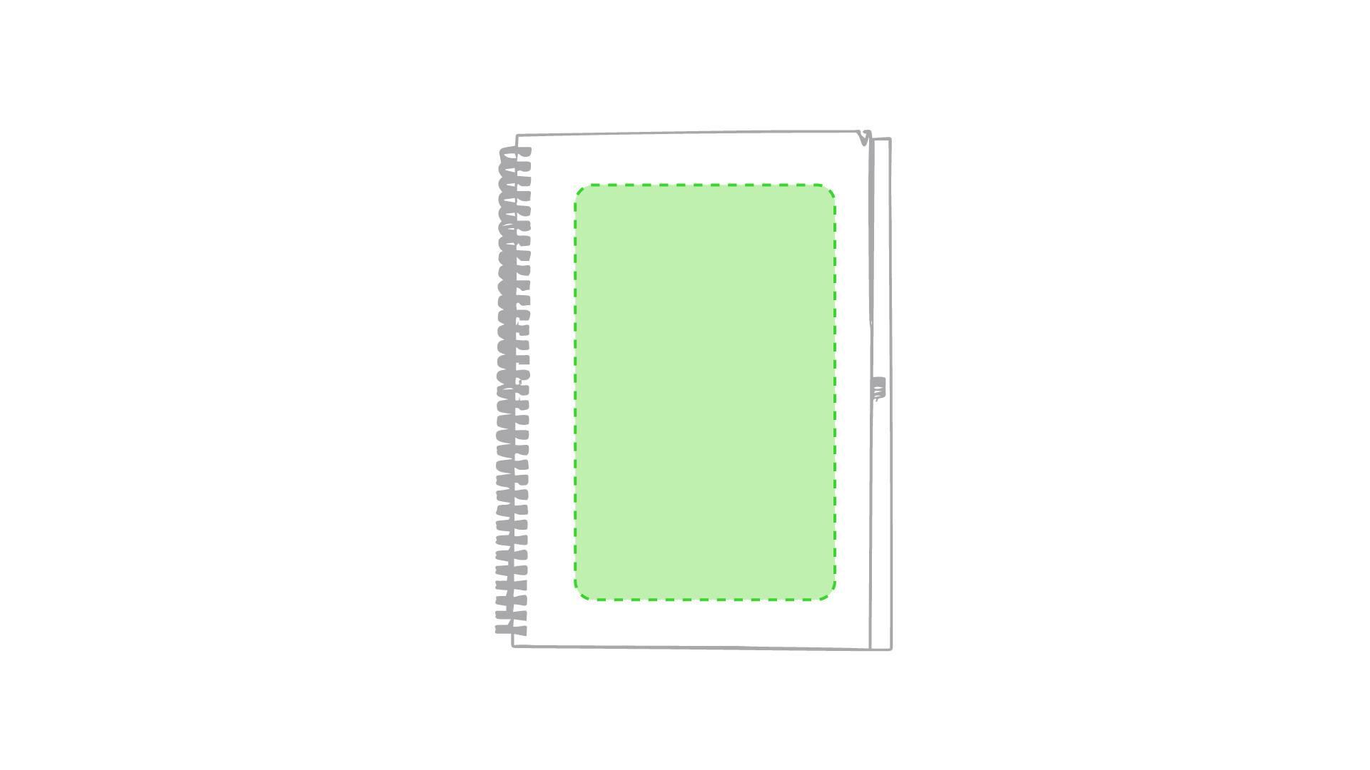 Libreta de cartón de colores maxi 1