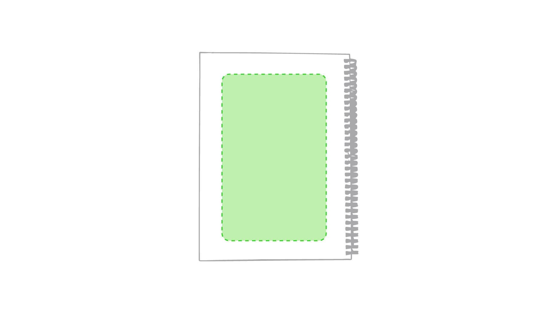 Libreta de cartón de colores maxi 2