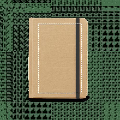 Bloc de notas de cartón con goma 1