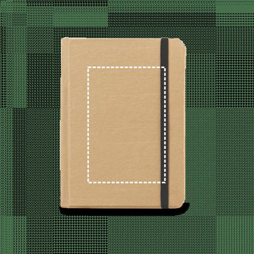 Bloc de notas de cartón con goma 2