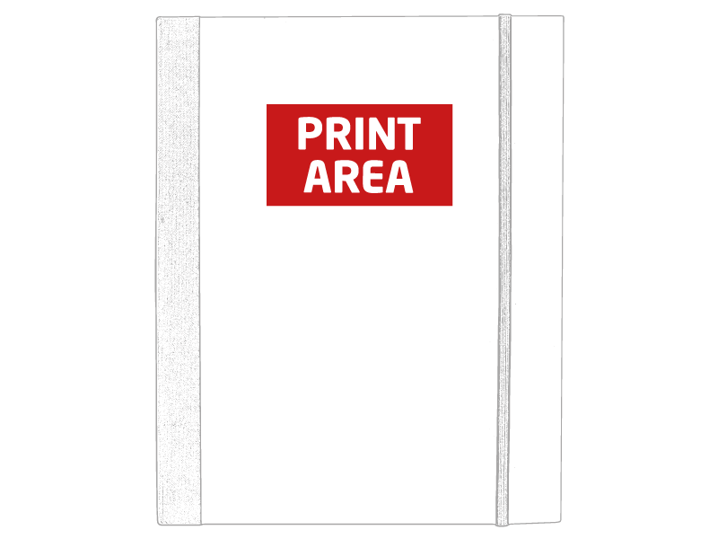 Portafolio de cartón con marcadores 1