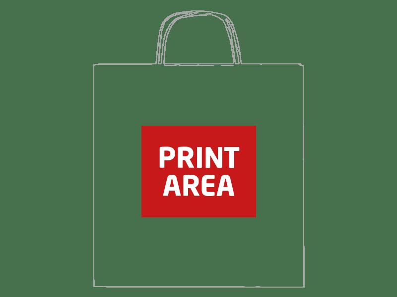 Bolsa de papel reciclado 46 x 16 x 49 cm 1