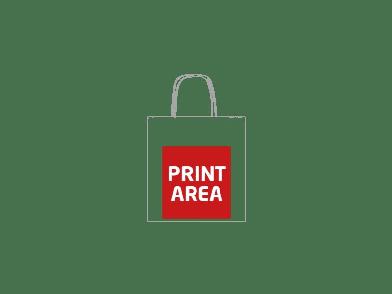 Bolsa de papel reciclado 22 x 23 x 10 cm 1