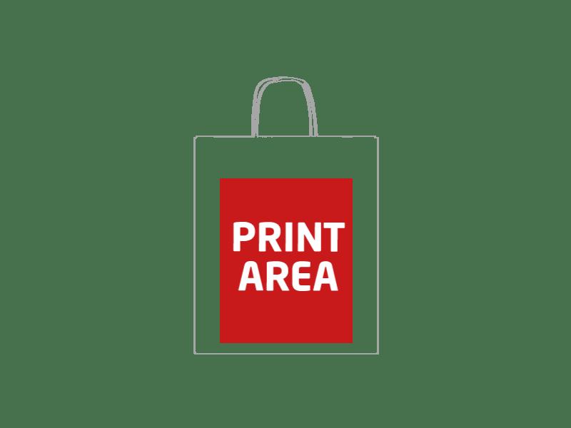 Bolsa de papel reciclado 28 x 33 x 10 cm 1