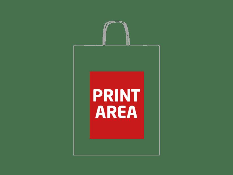 Bolsa de papel reciclado 32 x 41 x 12 cm 1