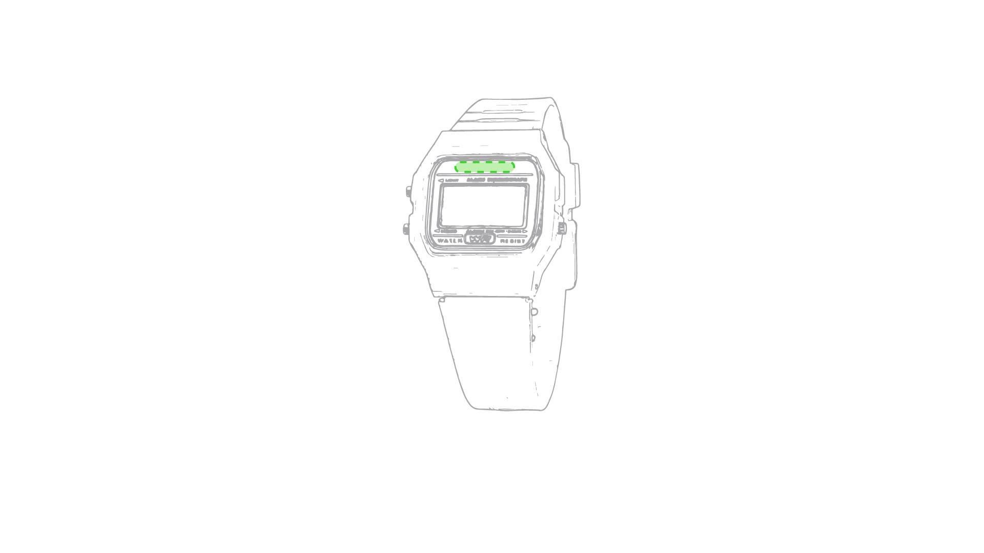 Reloj digital de pulsera 1