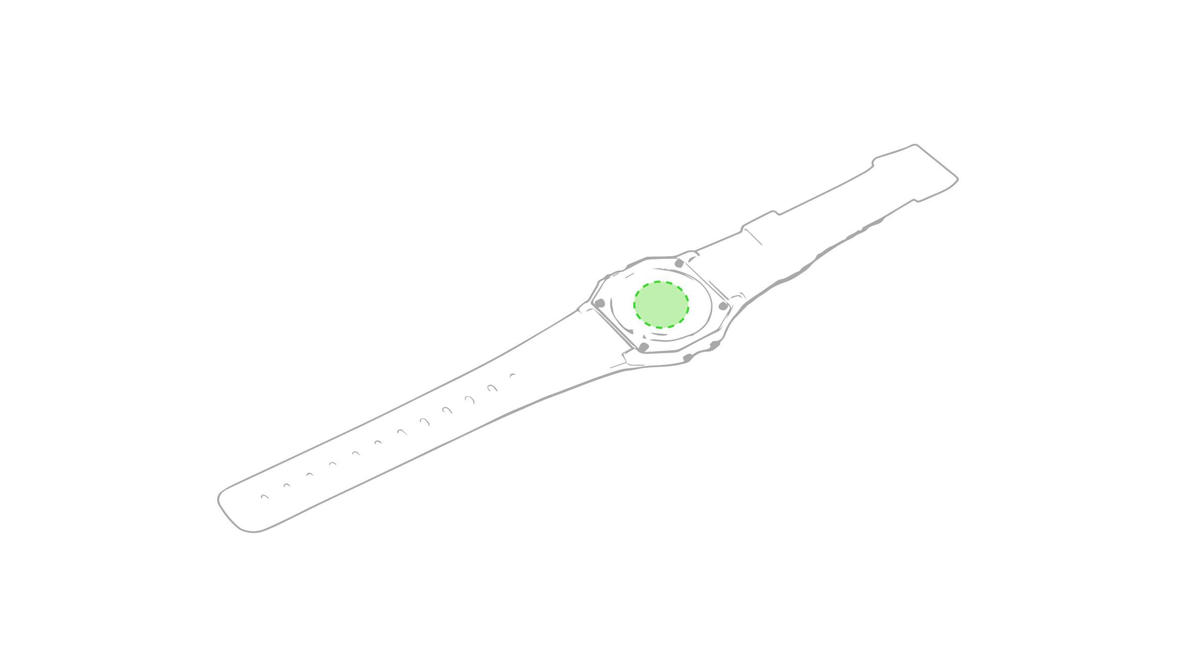 Reloj digital de pulsera 2