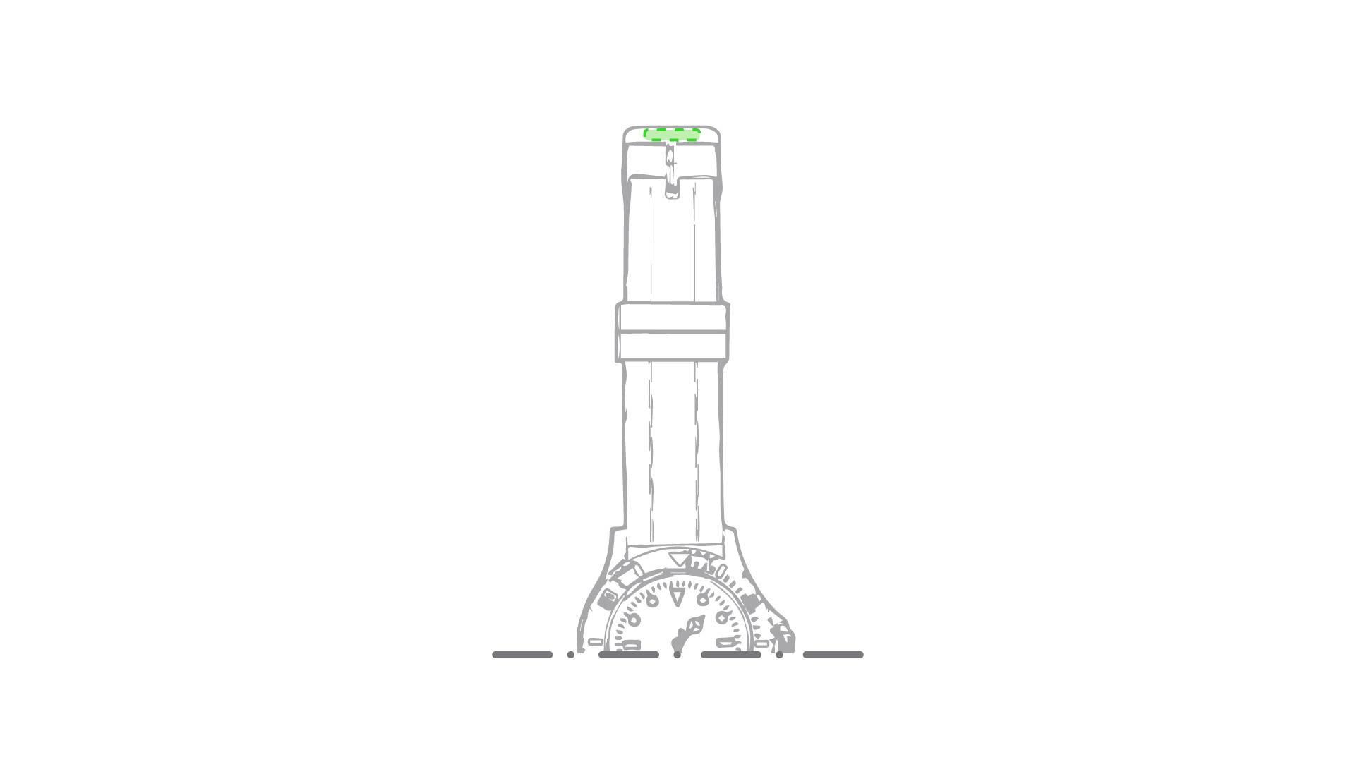 Reloj de pulsera de silicona 2