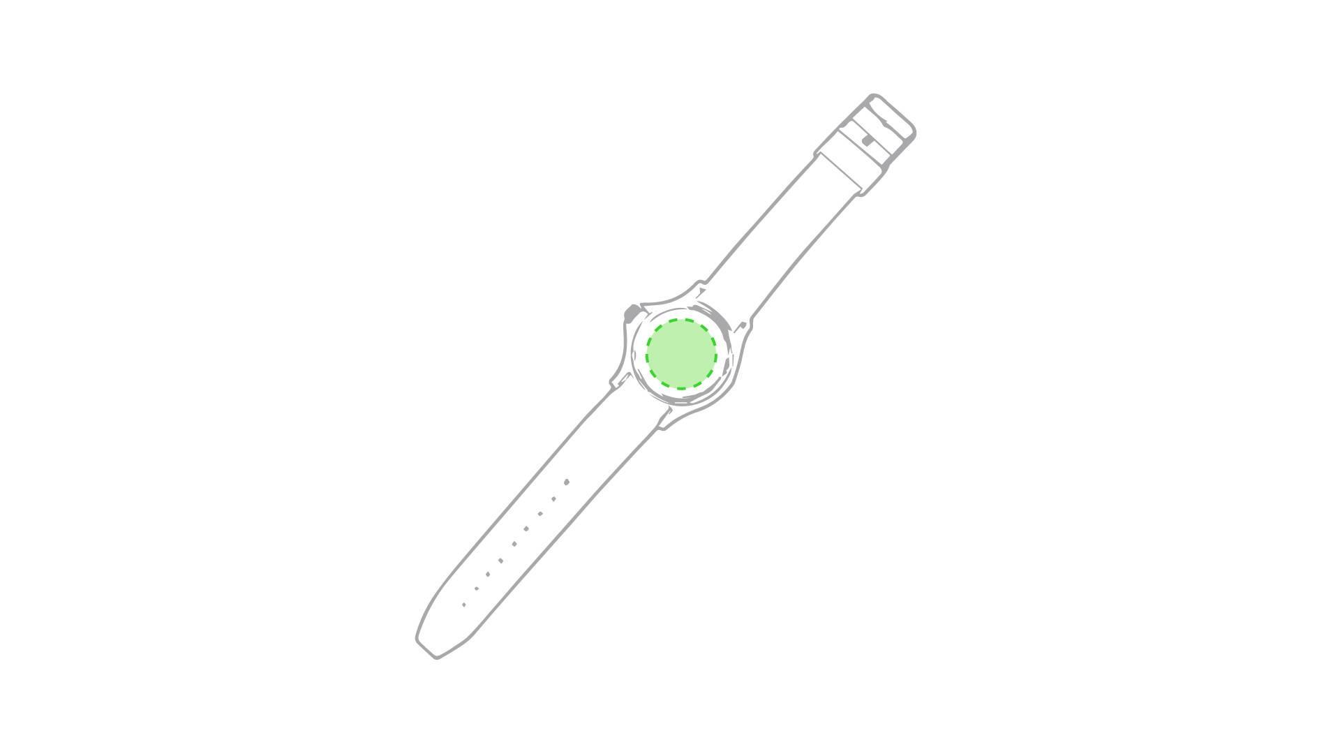 Reloj cronógrafo de esfera 1