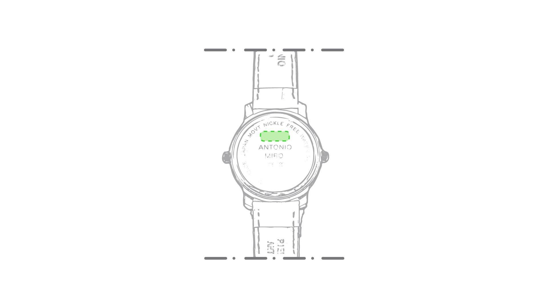 Reloj de pulsera Antonio Miró 1