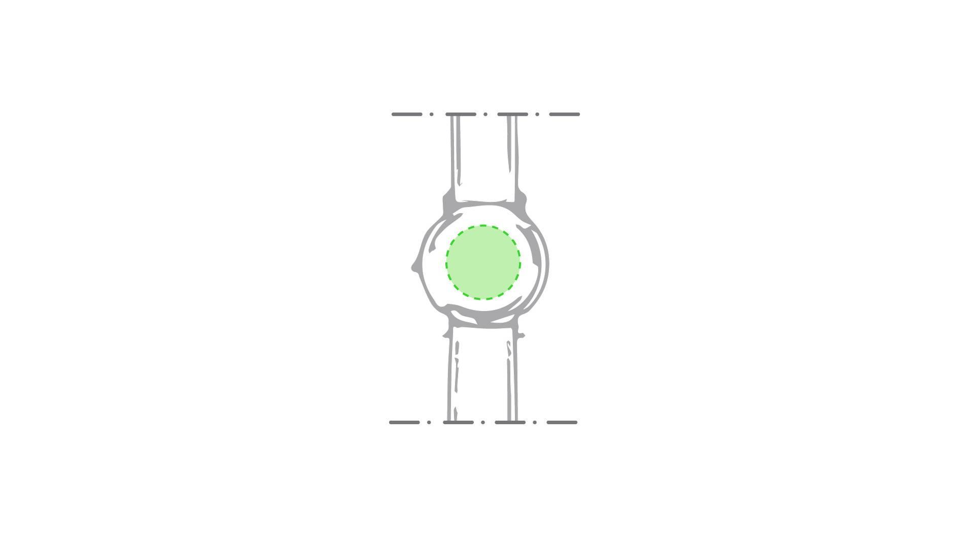 Reloj analógico con correa de silicona 1