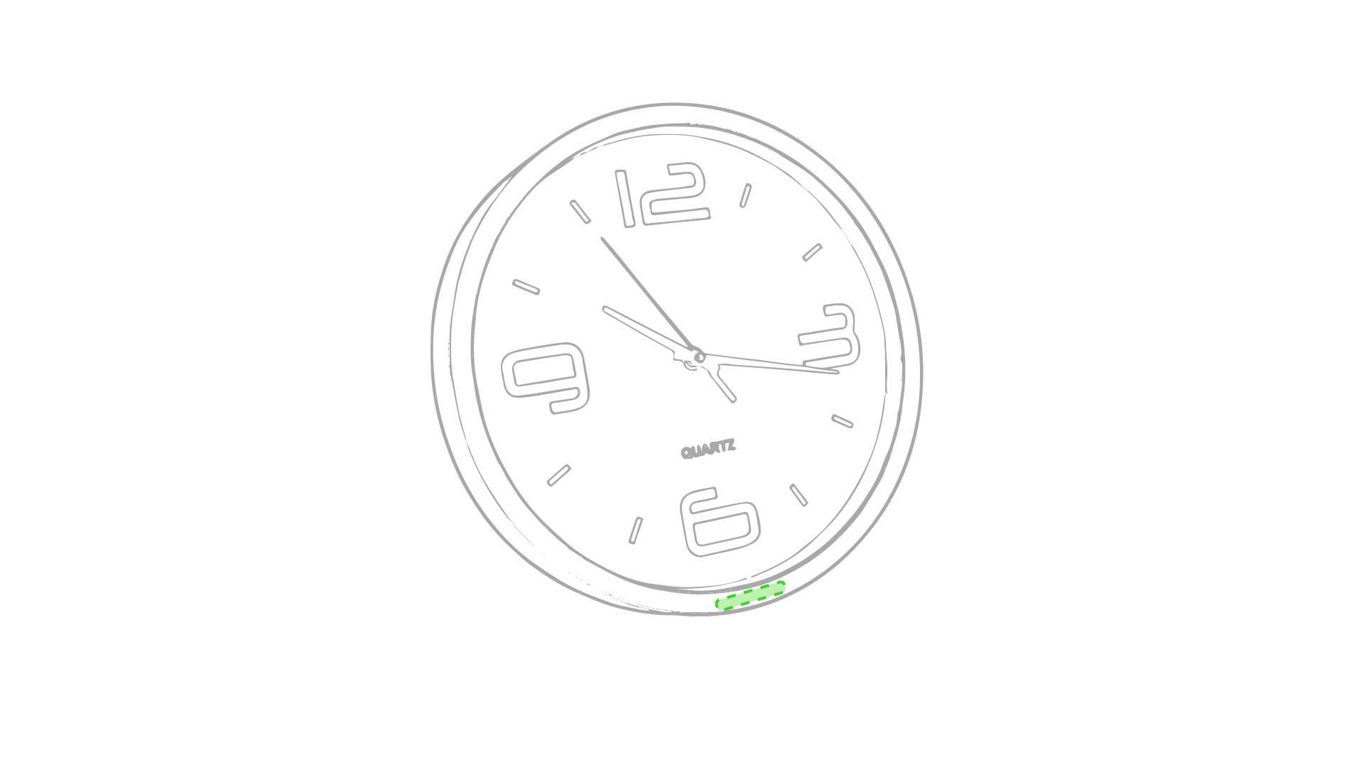 Reloj de pared circular 1