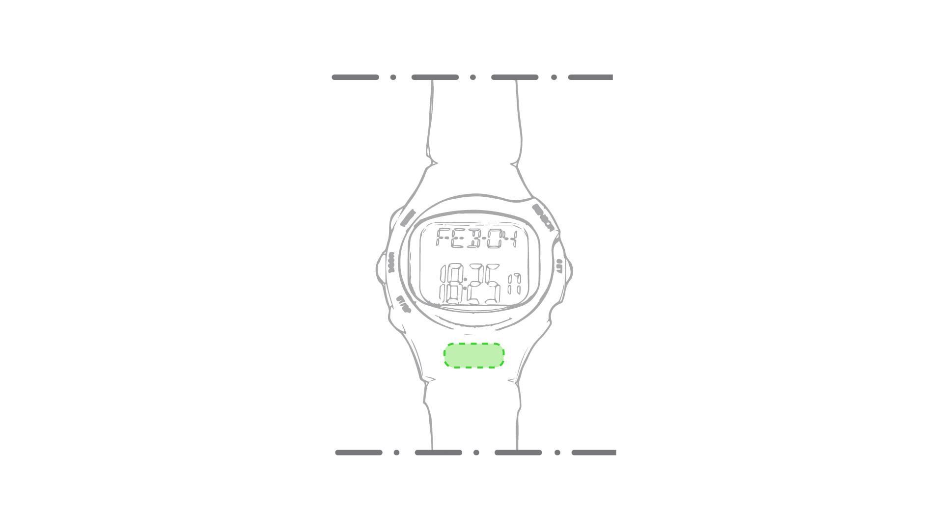Reloj pulsómetro 1