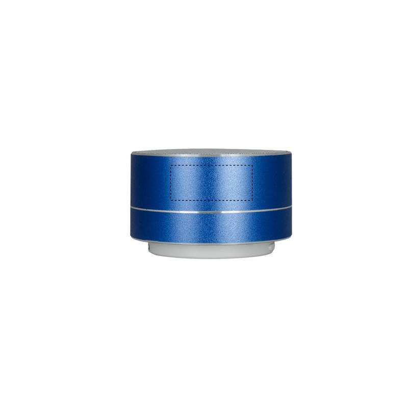 Altavoz inalámbrico metálico 4
