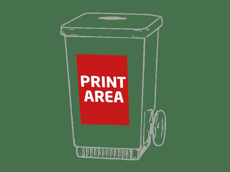 Sacapuntas cubo de reciclaje 1