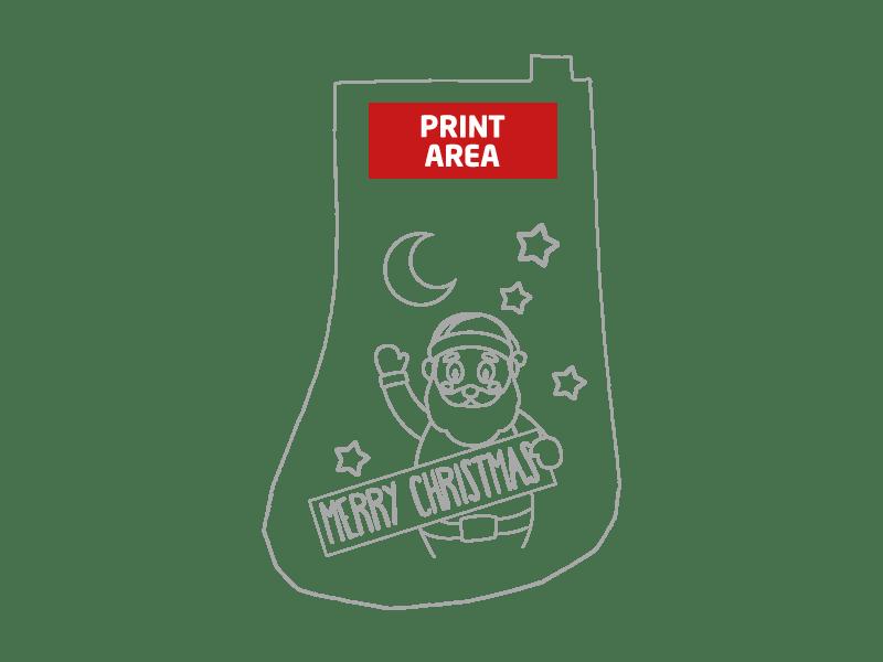 Pack de calcetines de navidad para pintar 1