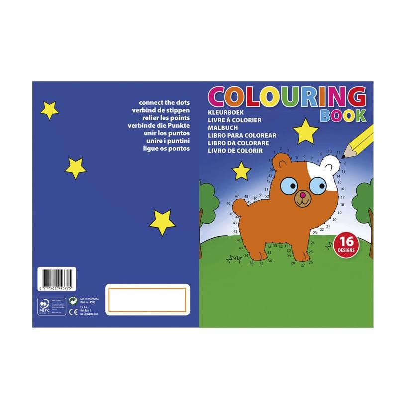 Libro infantil A5 para colorear 1