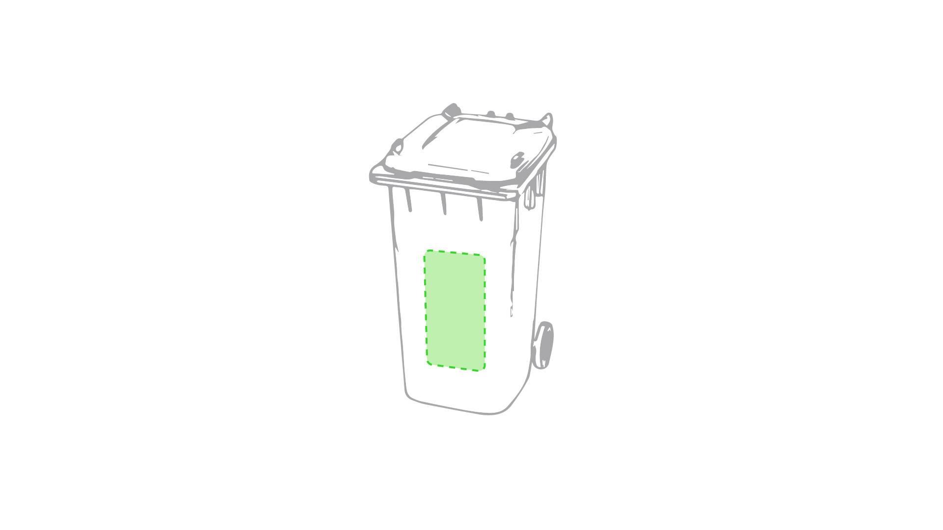 Portalápices cubo de reciclaje 1