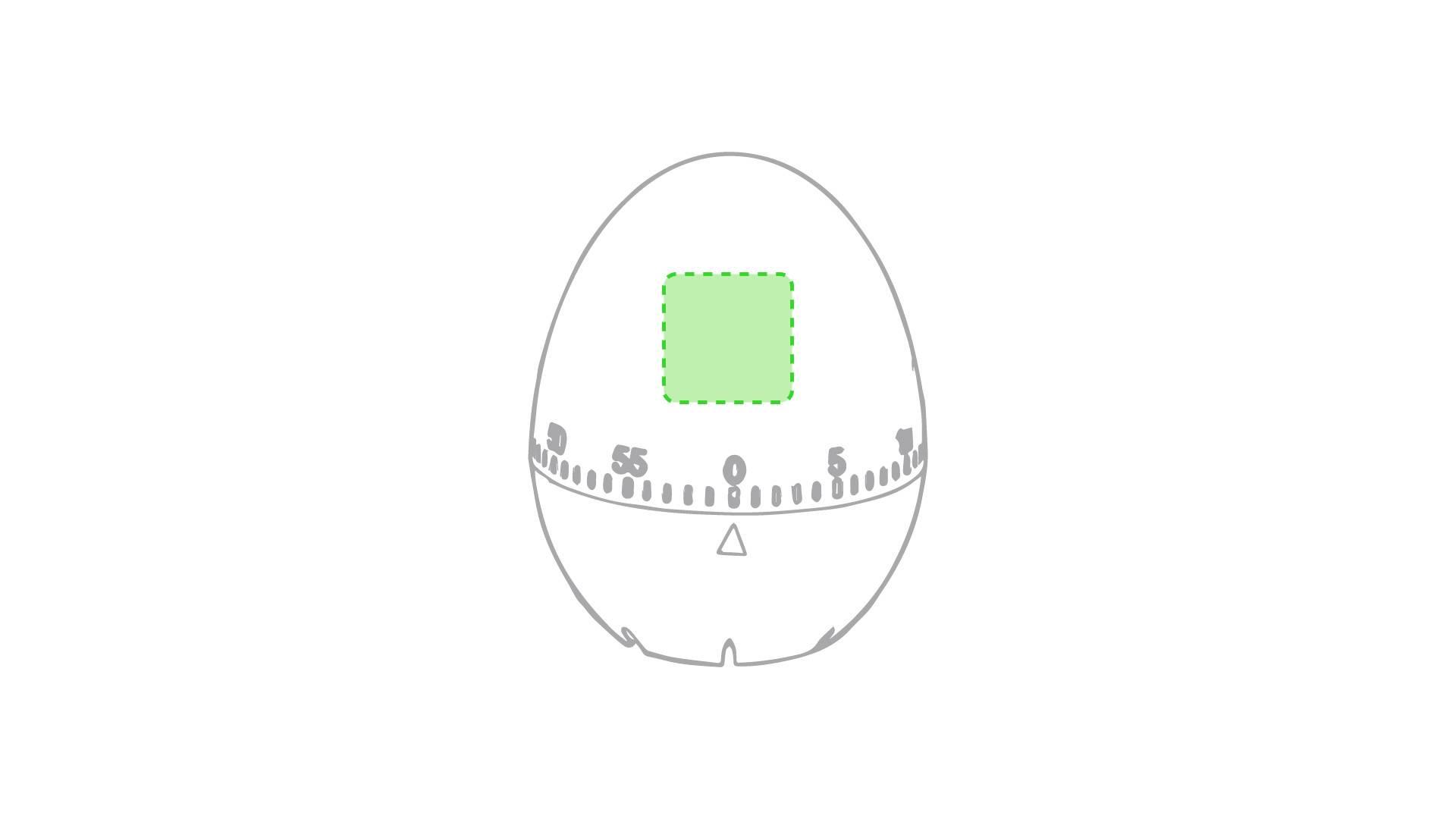 Huevo temporizador 1