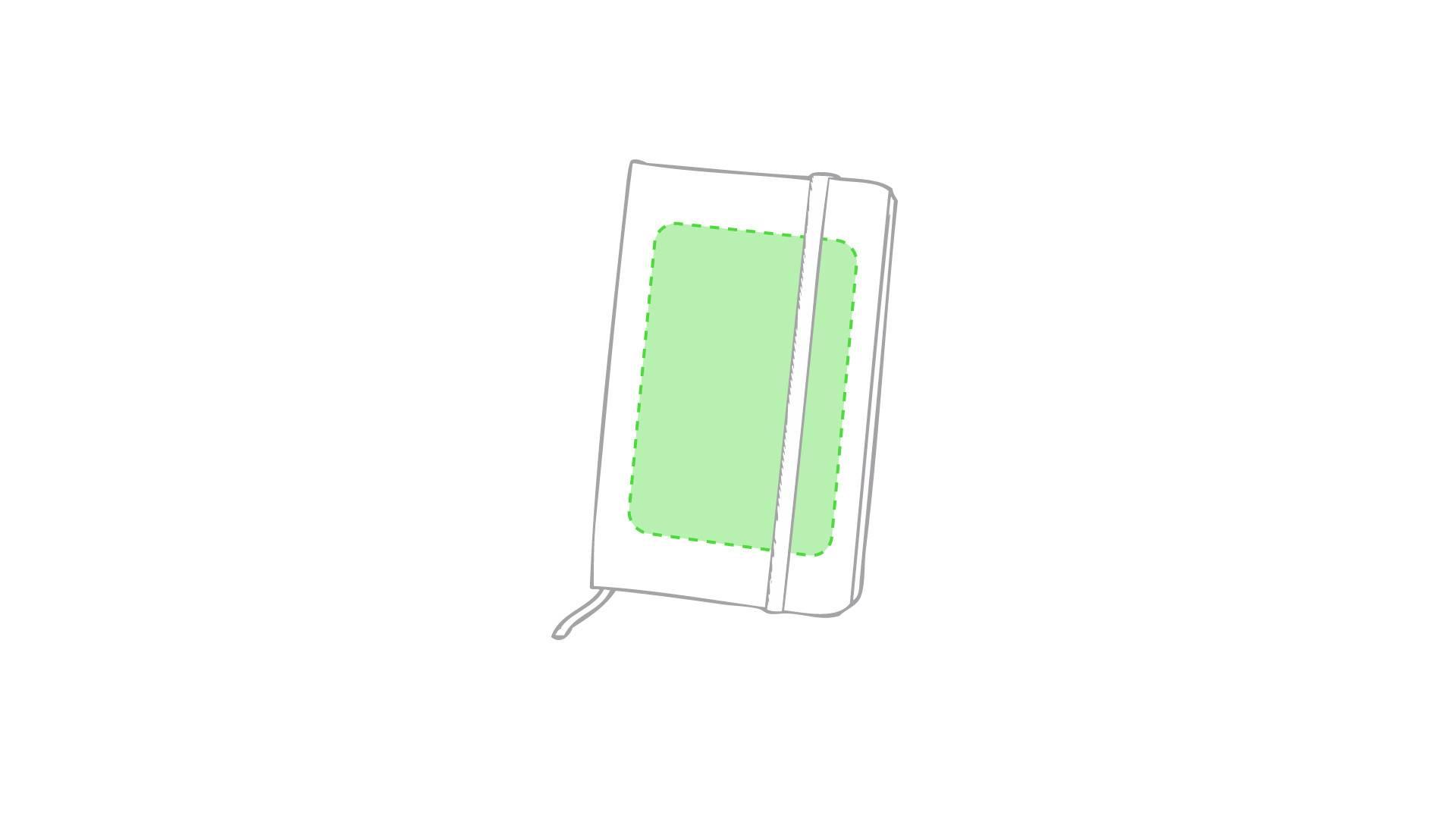 Bloc de notas bicolor 2