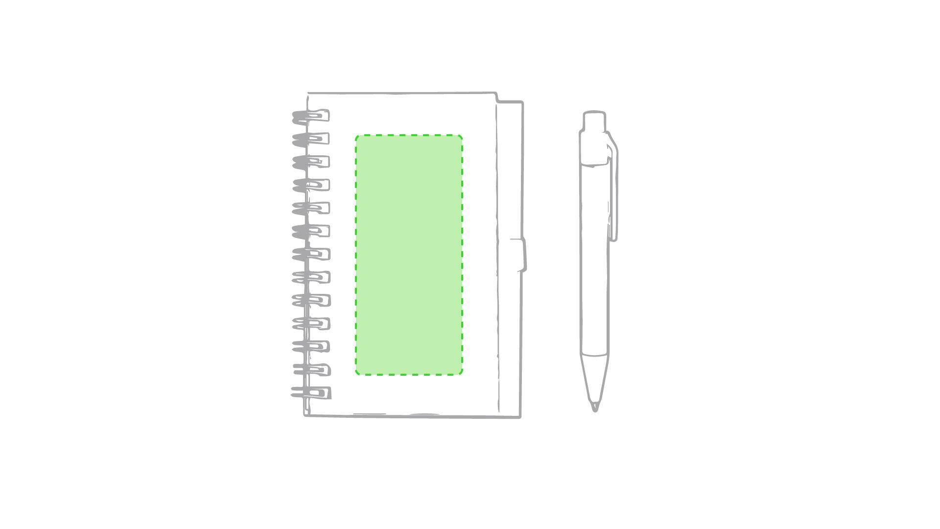 Libreta con bolígrafo de colores 3