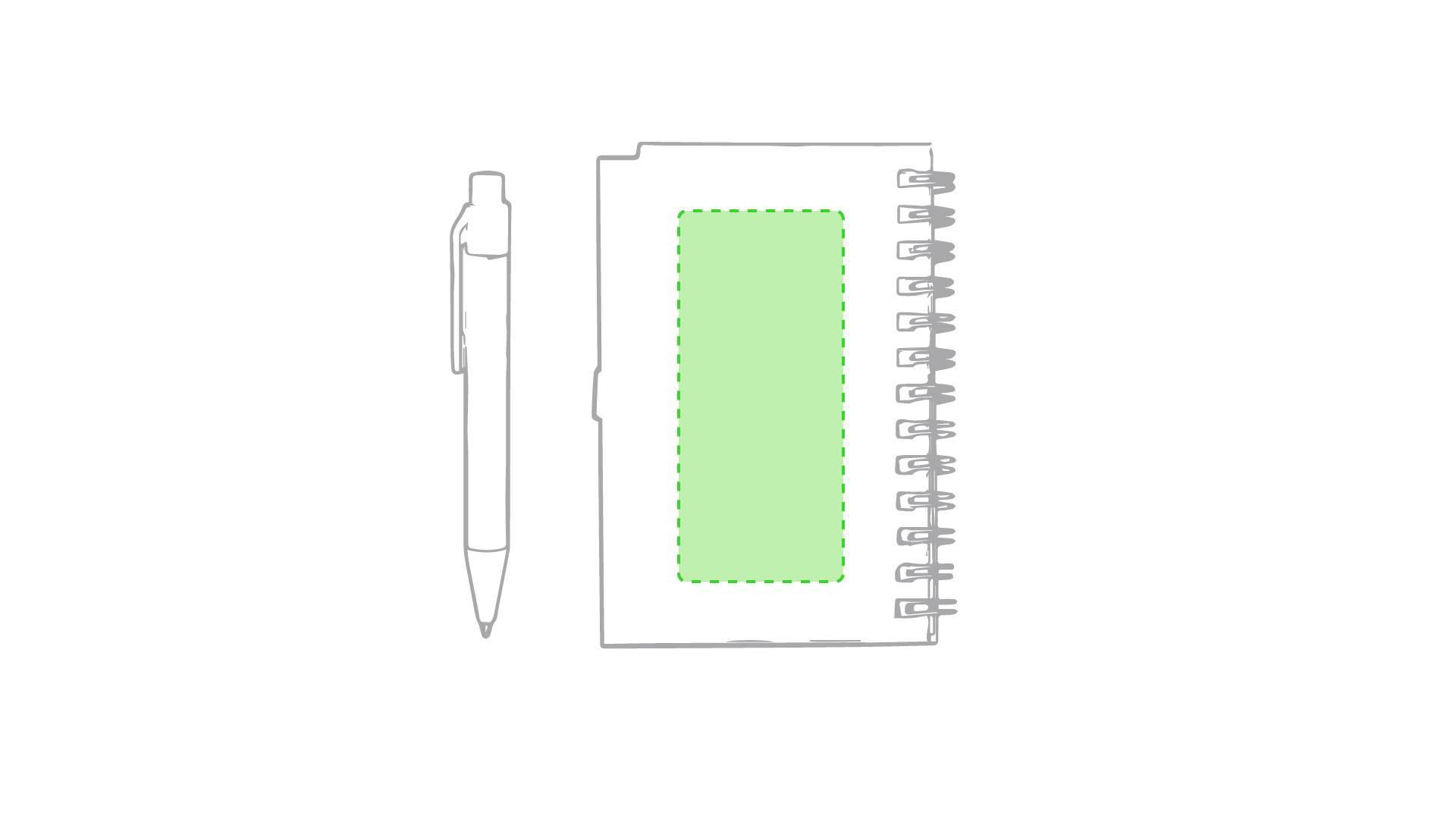 Libreta con bolígrafo de colores 4