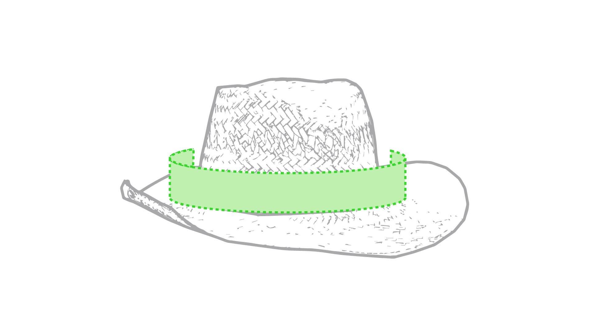 Sombrero de paja de colores 1