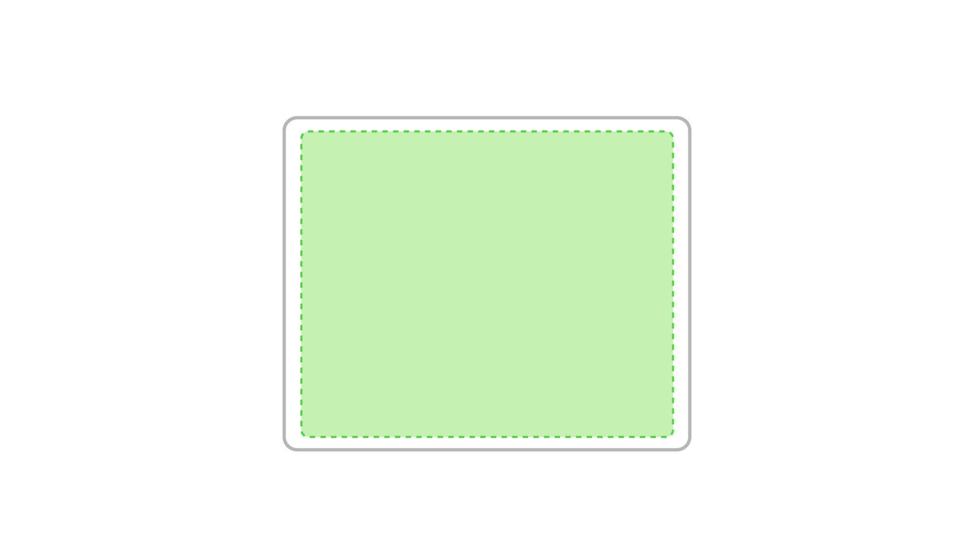 Alfombrilla rectangular para ratón 1