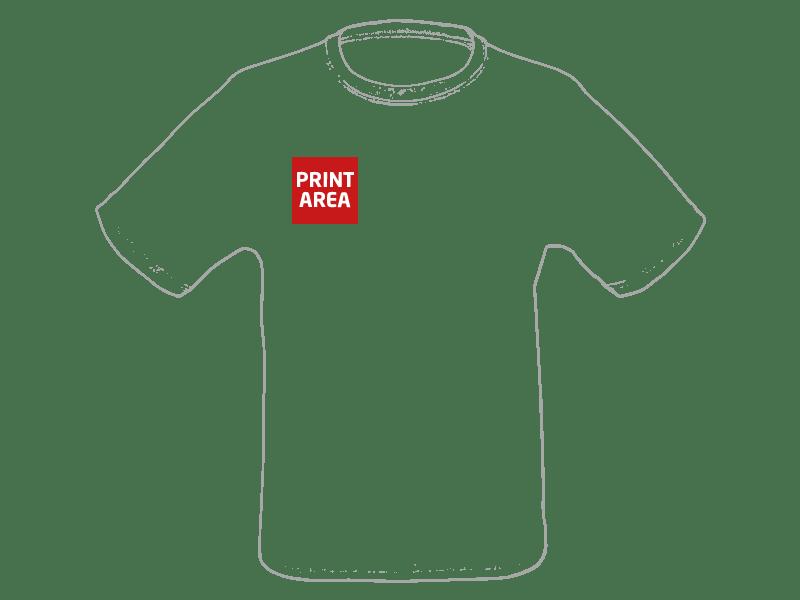 Camiseta técnica de poliéster blanca 2