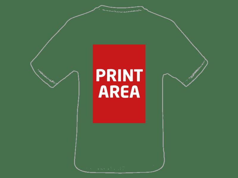 Camiseta técnica de poliéster blanca 3