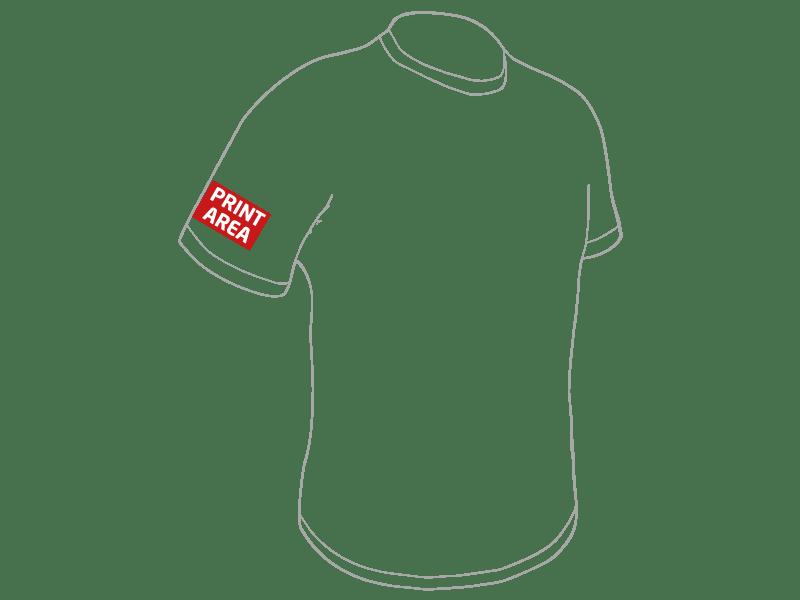 Camiseta técnica de poliéster blanca 5