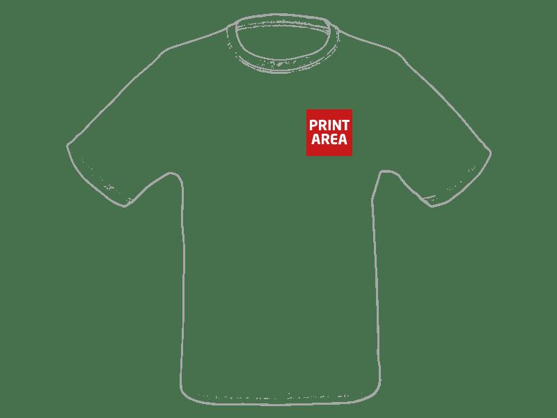Camiseta técnica de poliéster blanca 1