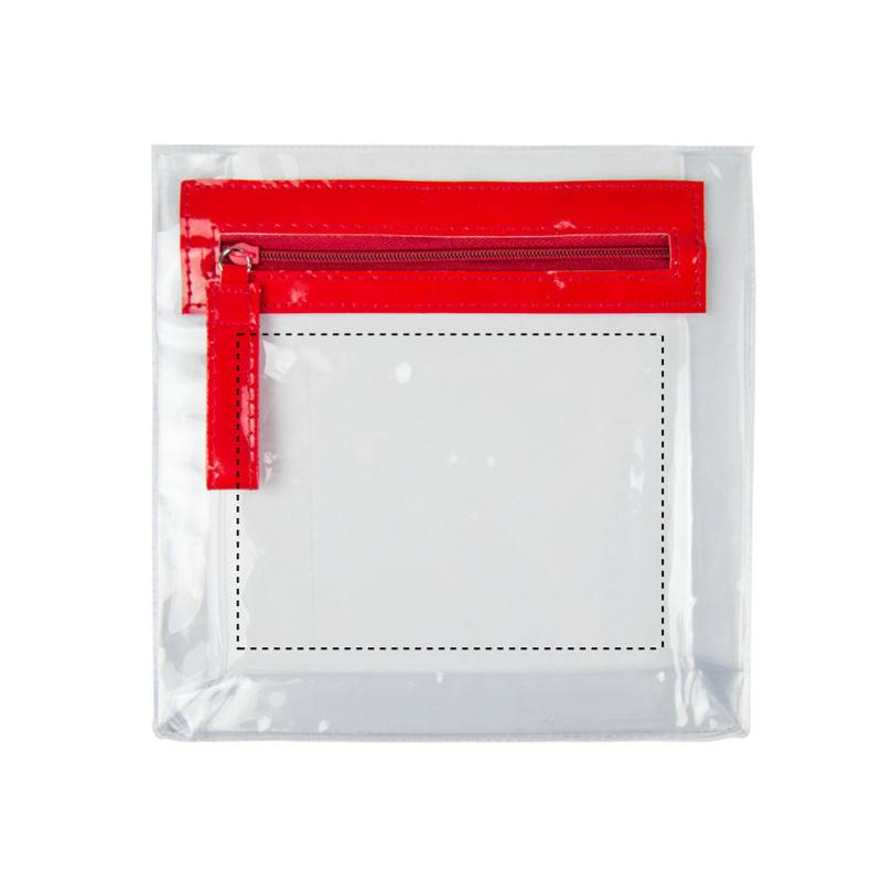 Neceser de PVC con cremallera 1