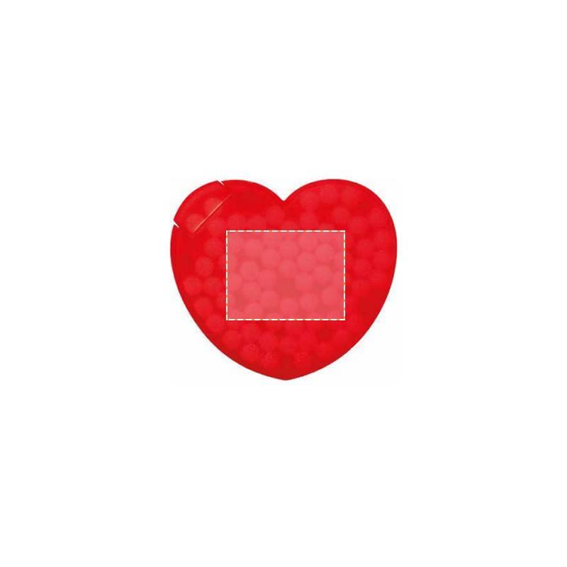 Expendedor de caramelos en forma de corazón 1
