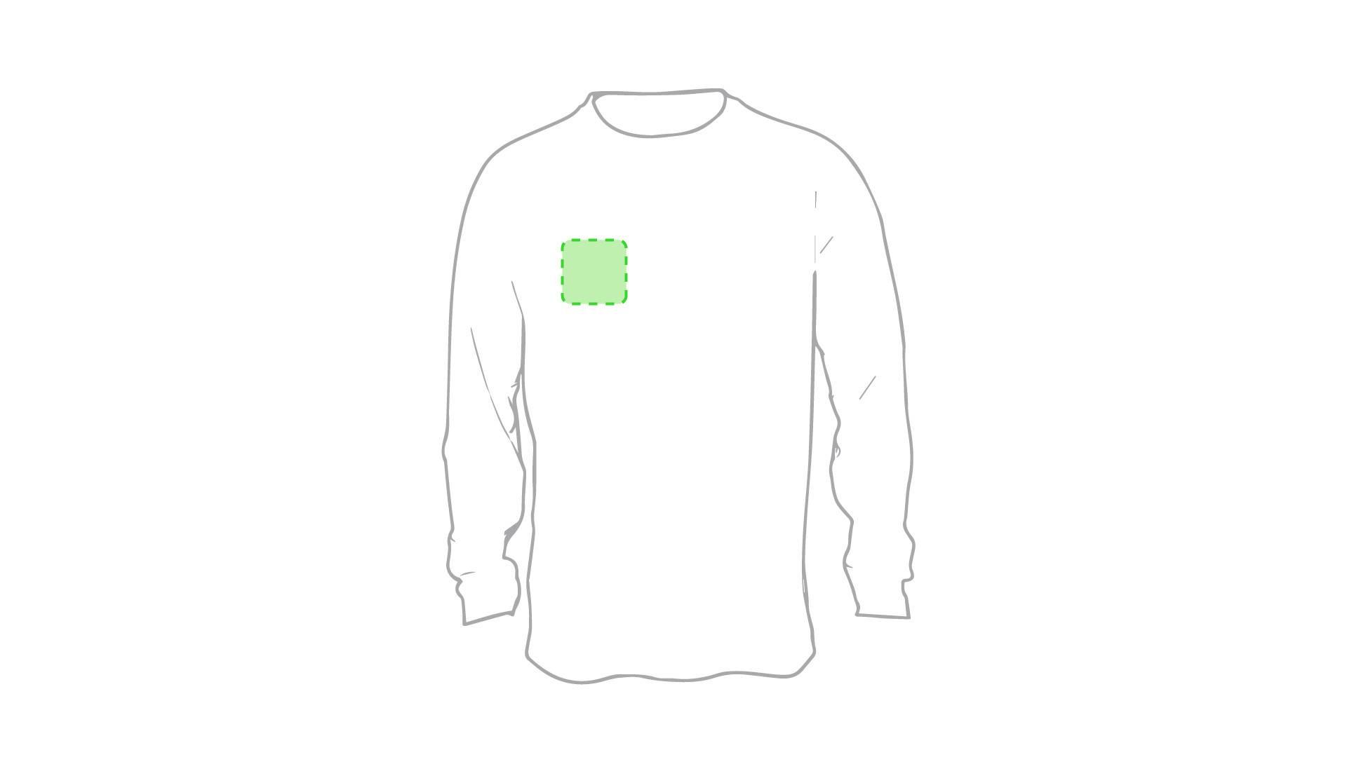 Camiseta técnica de poliéster de colores 1