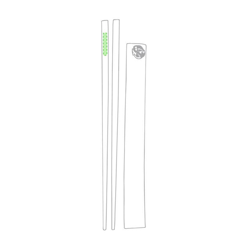 Palillos de bambú 1