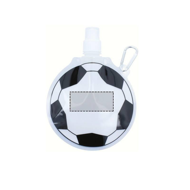 Botella plegable con forma de balón 1