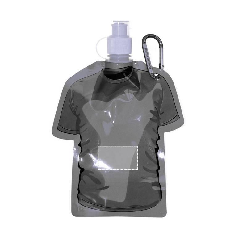Botella plegable con forma de camiseta 1