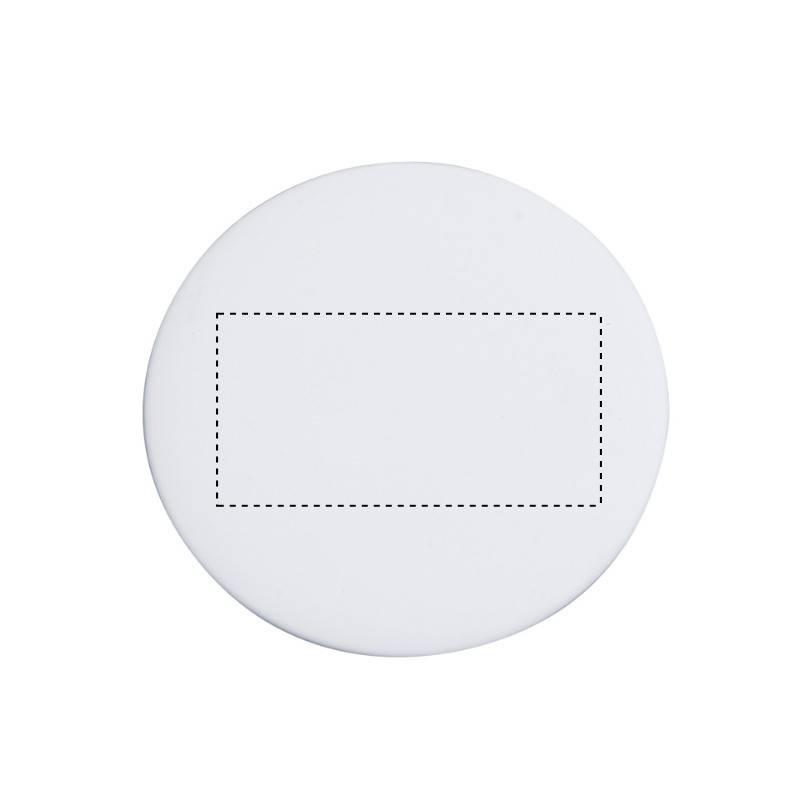 Espejo blanco de viaje 1