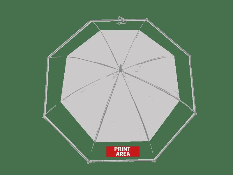 Paraguas automático bicolor 1