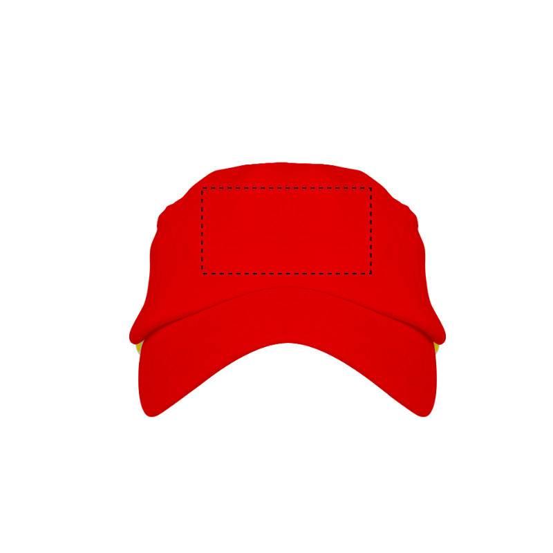 Gorra con bandera española 1