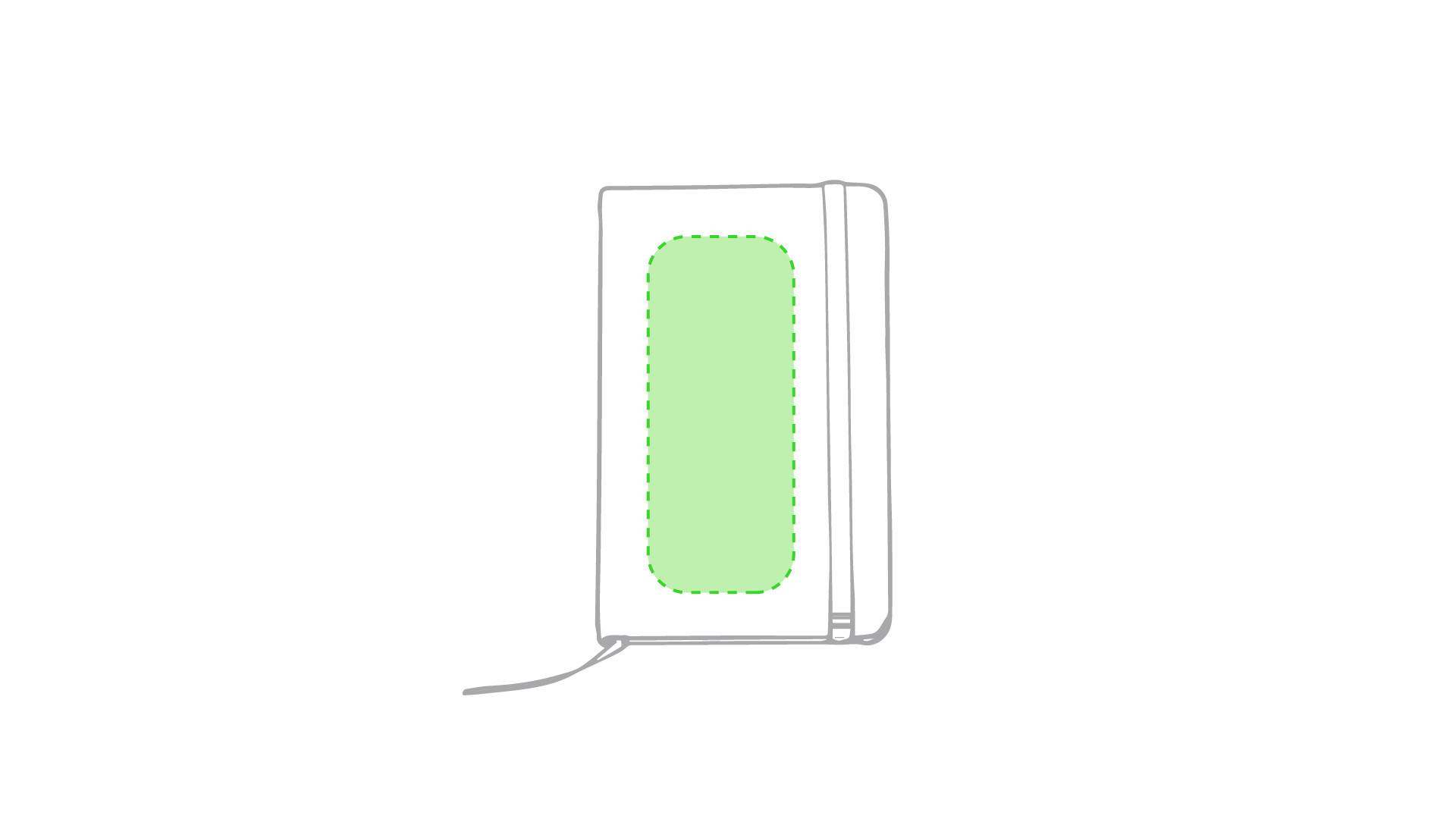 Bloc de notas de polipiel tamaño bolsillo 1