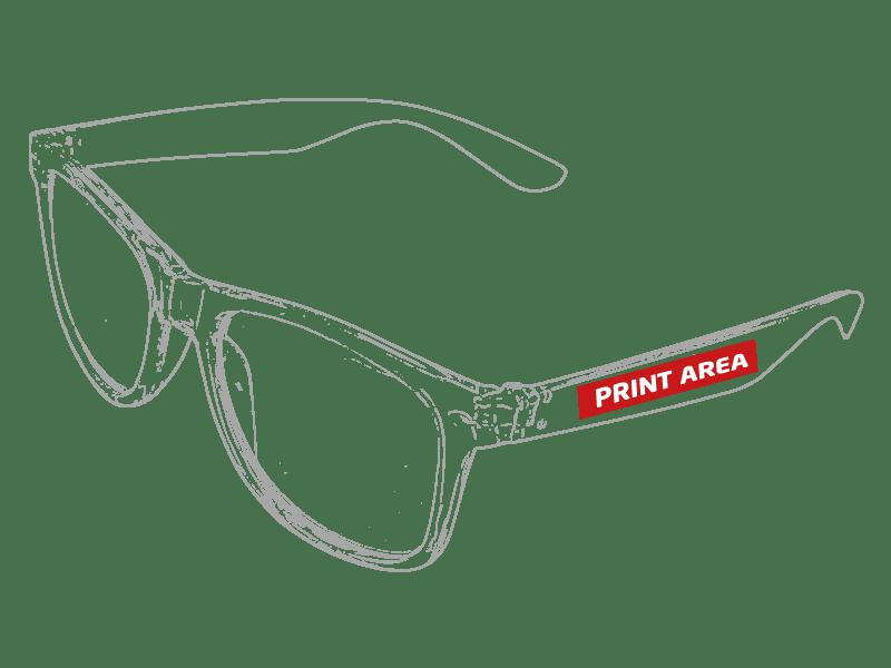 Gafas de sol transparentes 1