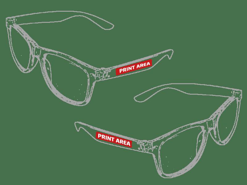 Gafas de sol transparentes 2