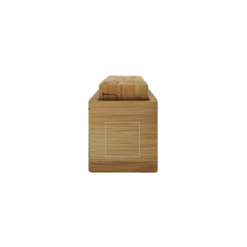 Calendario perpetuo de bambú 4
