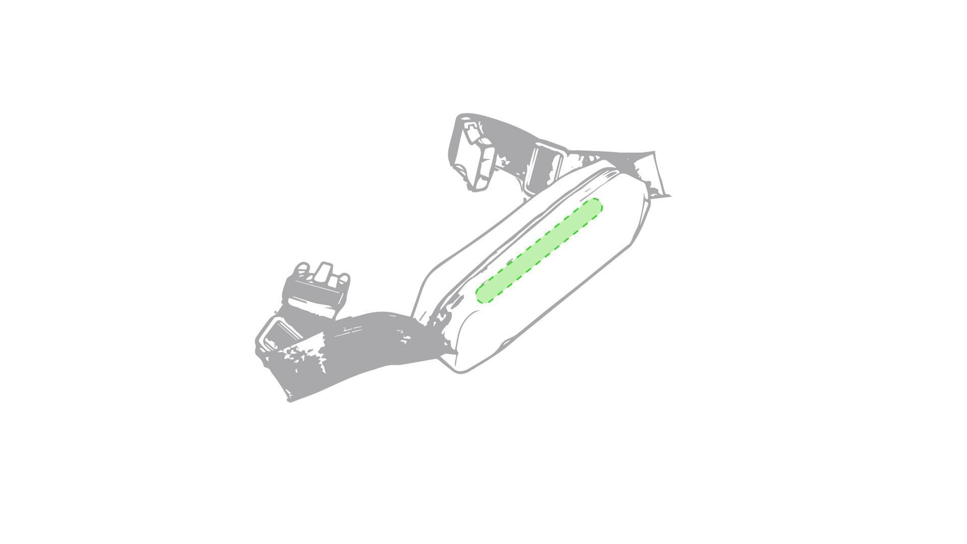 Riñonera de PVC deportiva 1